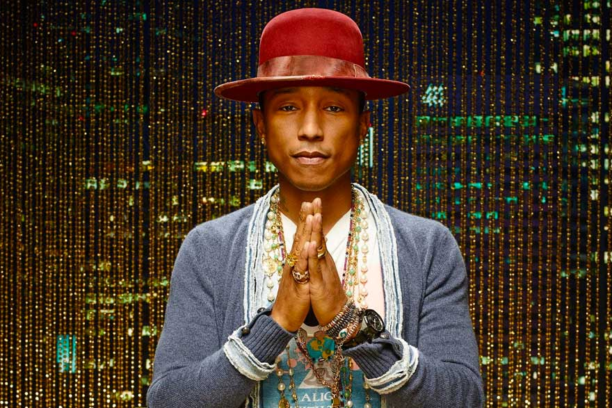 Pharrell Williams - Most Influential Figures in Hip Hop Fashion