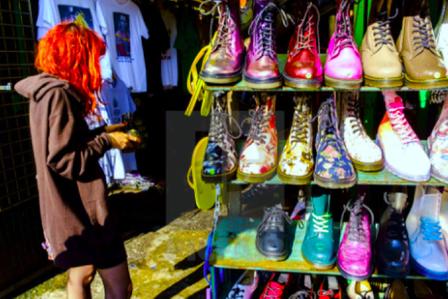 Sex, Drugs and Neon Guts -The History, Fashion and Culture of London's Camden Market