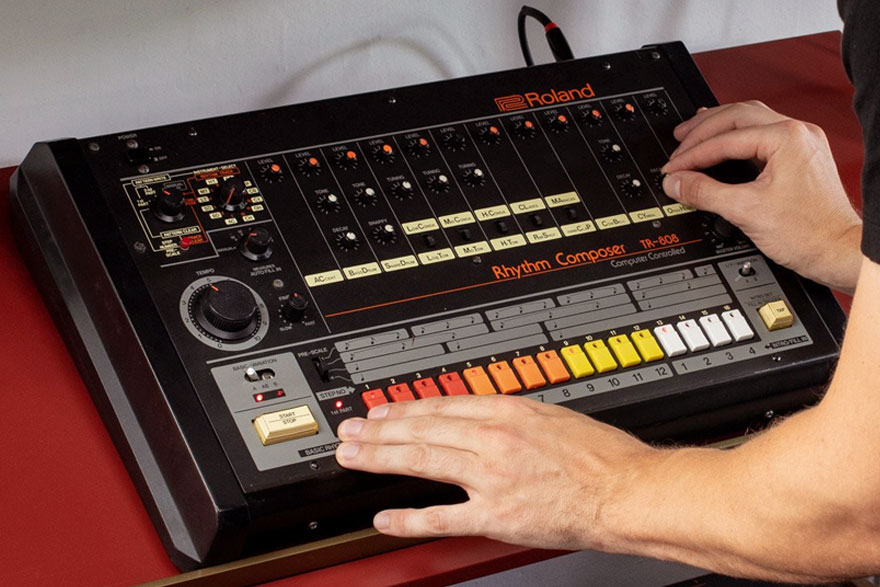 The Legendary Roland TR-808: An Impact as Big as its Bass
